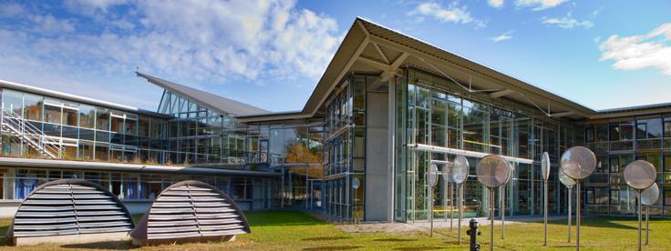 Gebäude der Universität Eichstätt.