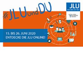 Werbemittel der JLU Gießen