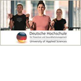Werbemittel der Deutschen Hochschule für Prävention und Gesundheitsmanagement