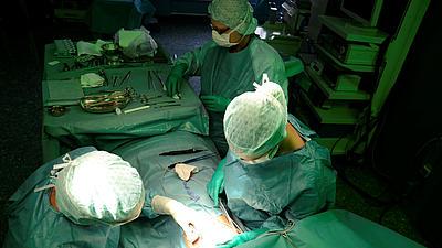 Eine Operation.