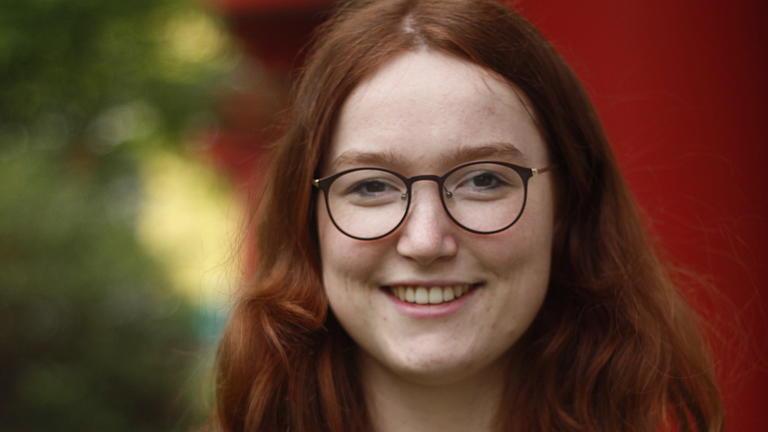 Ein Porträt-Foto von Isabel W.