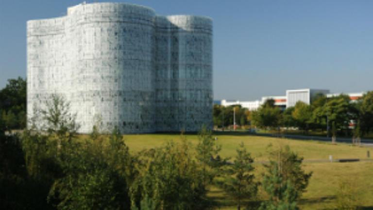 Ein Gebäude der BTU Cottbus.