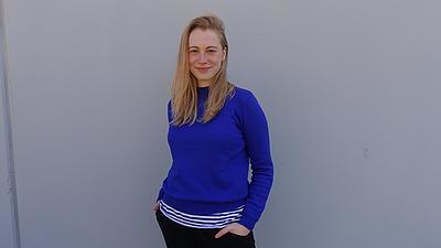 Ein Porträt-Foto von Esther.