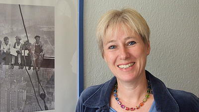 Ein Porträt-Foto von Eva-Martina Maluck