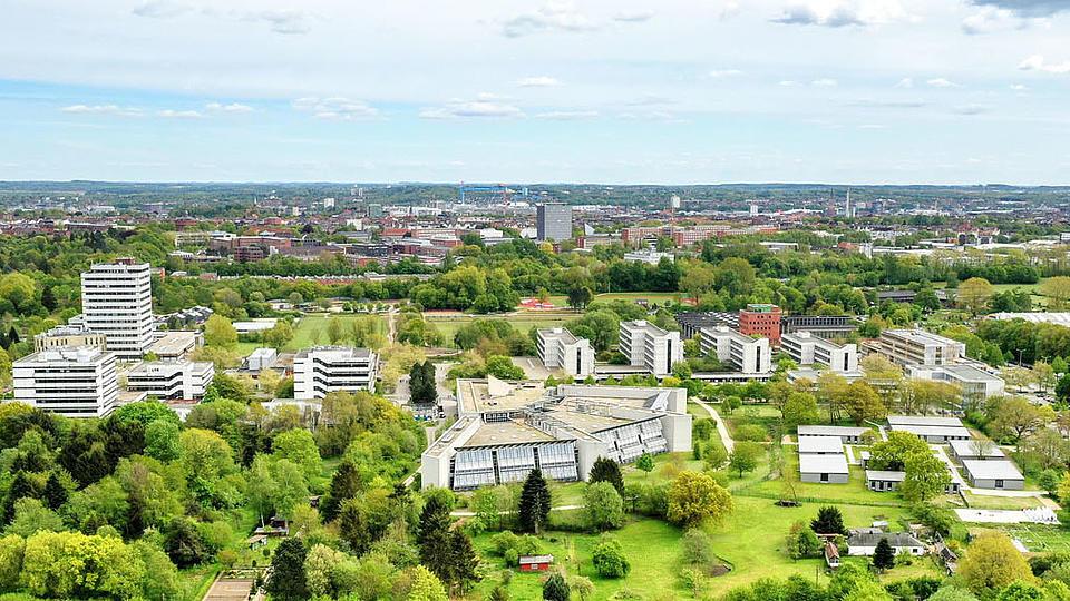 Die Universität von oben