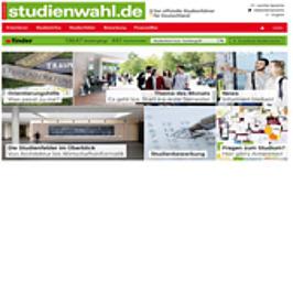 Werbemittel studienwahl.de