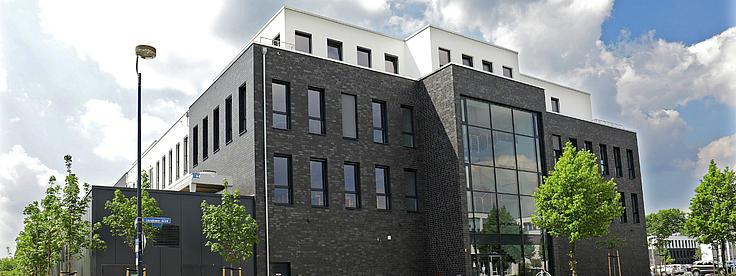 Ein Gebäude der eufom.