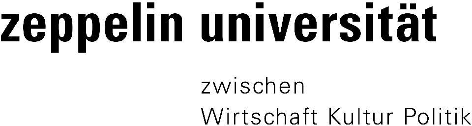 Logo von Zeppelin Universität