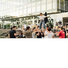 Werbemittel der Zeppelin Universität