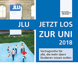 Werbung für die JLU.