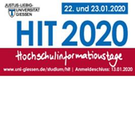 Werbemittel der Uni Gießen