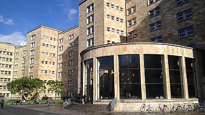 Hauptgebäude der Goethe-Universität in Frankfurt am Main.