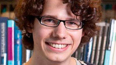 Foto eines Studierenden.