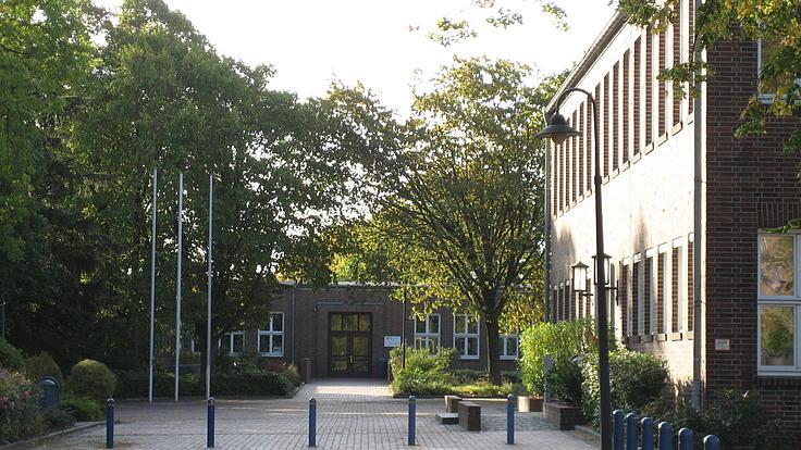 Campus in Salzgitter mit Grünanlage