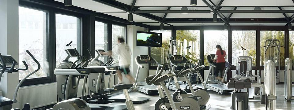 Das Fitnessstudio der R+V Versicherungen.