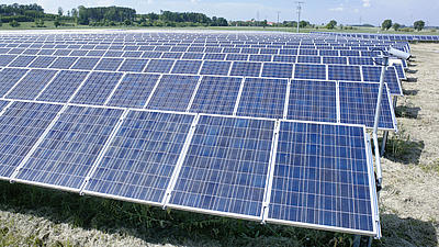 Photovoltaikanlagen.