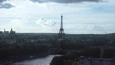 Der Eifelturm in Paris.