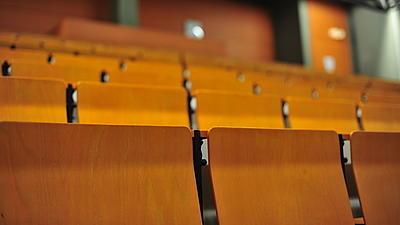 Hörsaal der Universität Würzburg