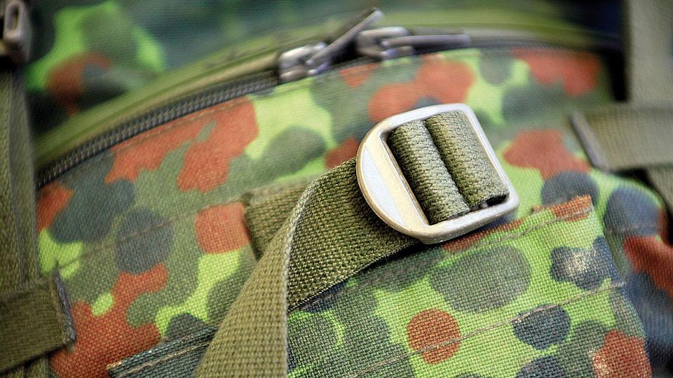 Teil einer Uniform.
